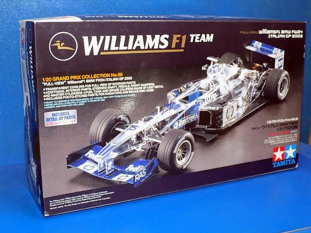 Tamiya 1/20 20056 Williams F1 BMW FW24  Full View Italian GP 2002 Date: 00's