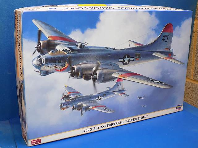Hasegawa 1/72 01961 B-17G Flying Fortress 'Silver Fleet' Date: 00's