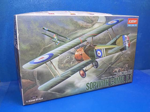 Academy 1/32 2189 Sopwith Camel F1 Date: 00's