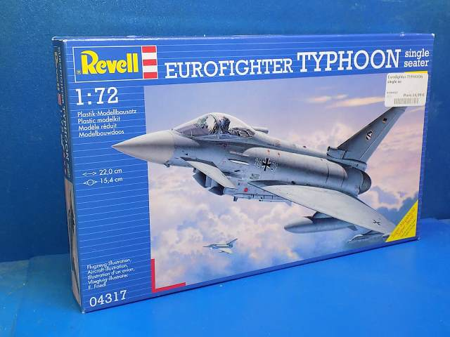 Revell 1/72 4317 Eurofighter Typhoon Single Seater Date: 00's