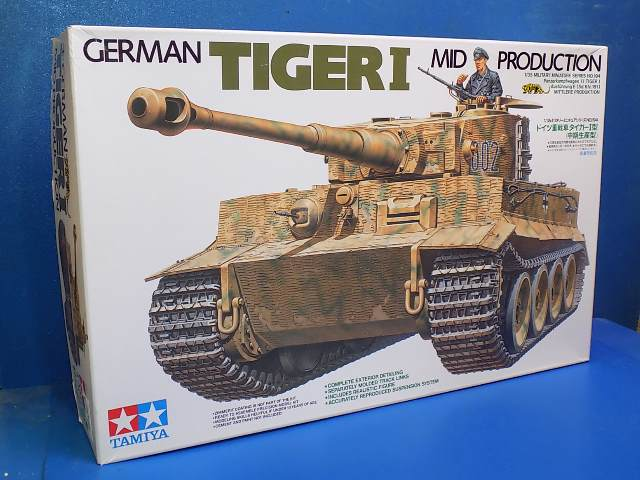 Tamiya 1/35 35194 Tiger I - Mid Production Date: 00's