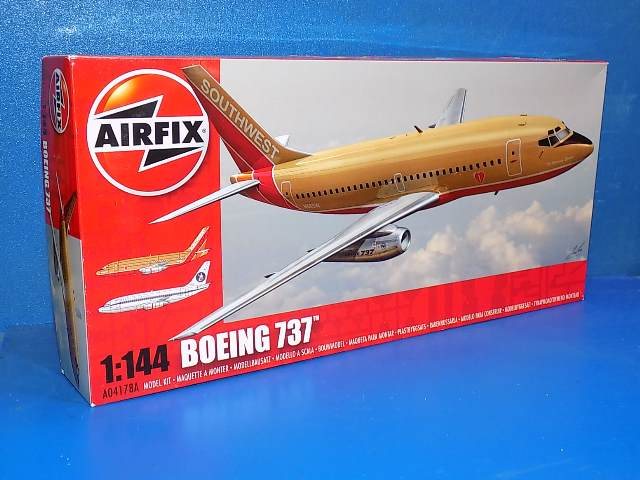 Airfix 1/144 4178A Boeing 737 Date: 00's