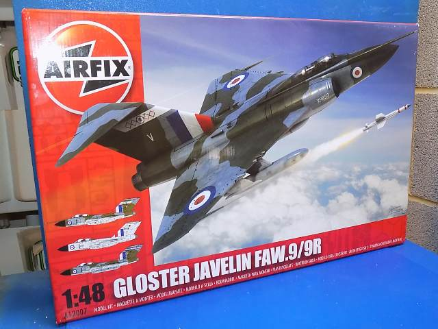 Airfix 1/48 12007 Javelin FAW9/9R Date: 00's