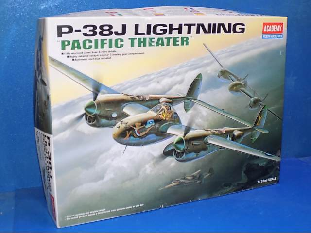 Academy 1/72 2209 P-38J Lightning Pacific Theatre Date: 00's