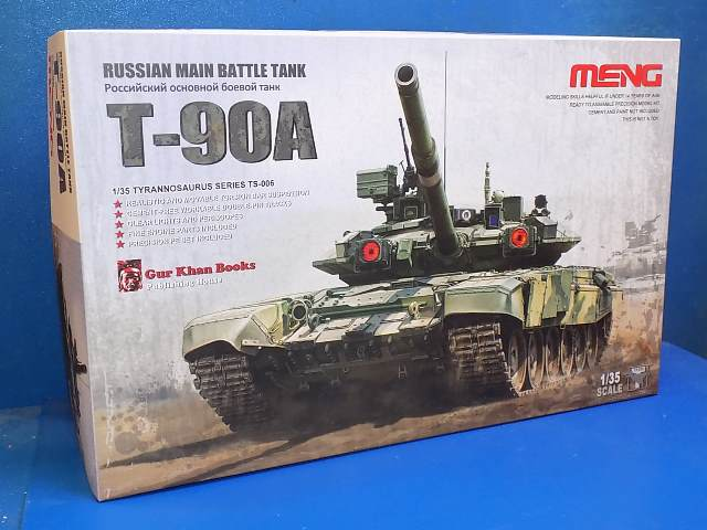 Meng Model 1/35 TS006 T-90A Russian MBT Date: 00's