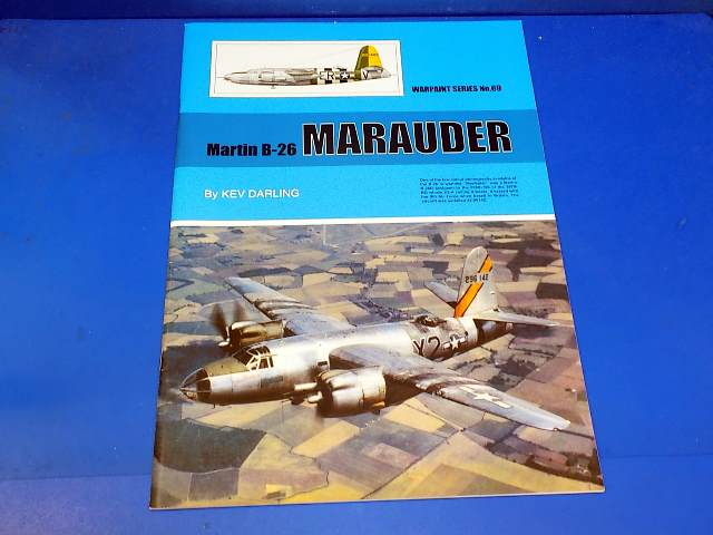 Books - 69 Warpaint No 69 - B-26 Marauder Date: 00's