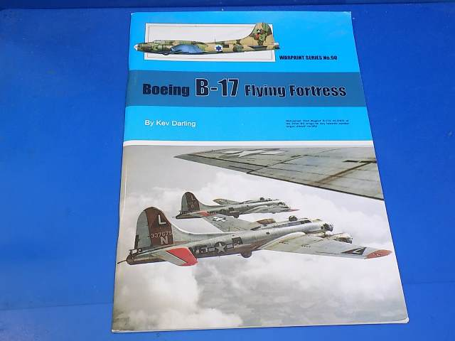 Books - 90 Warpaint No 90 - B-17 Flying Fortress Date: 00's