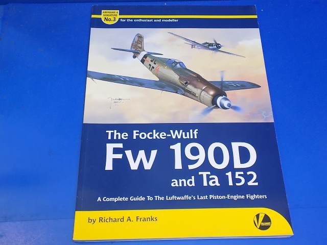 Books - 3 Airframe an Miniature No3 - Fw190D and Ta152 Date: 00's