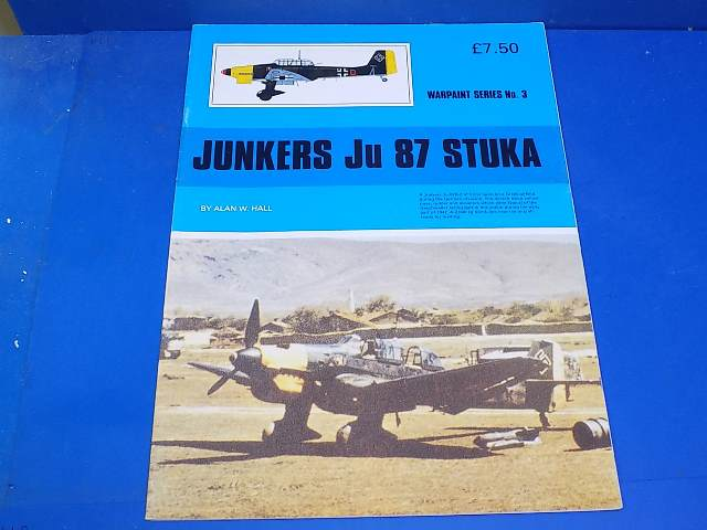 Books - 3 Warpaint No 3 - Ju87 Stuka Date: 00's
