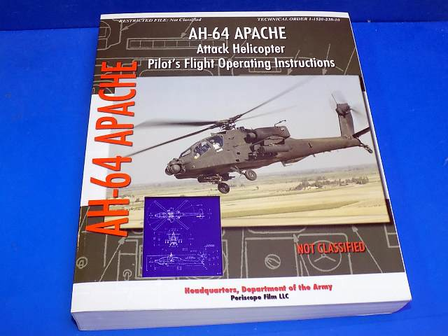 Books - - AH-64 Apache Pilots Operating Instructions Date: 00's