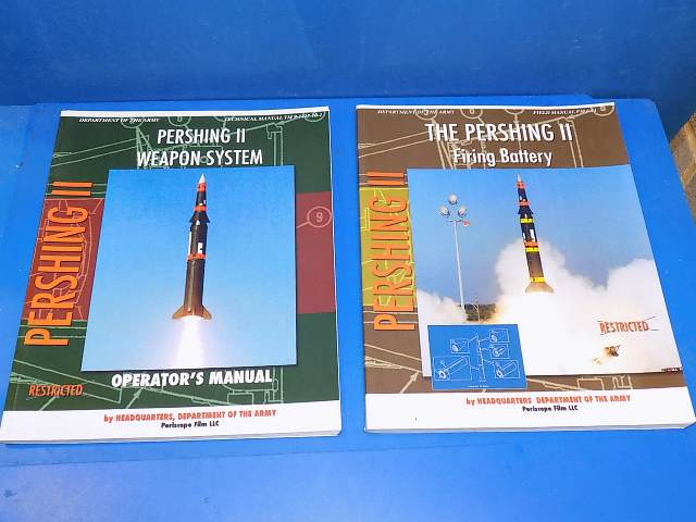 Books - - Pershing II - Weapon System & Firing Battery Date: 00's