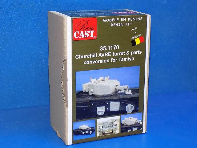 Resicast 1/35 351170 Churchill AVRE Conversion (for the Tamiya Kit) Date: 00's
