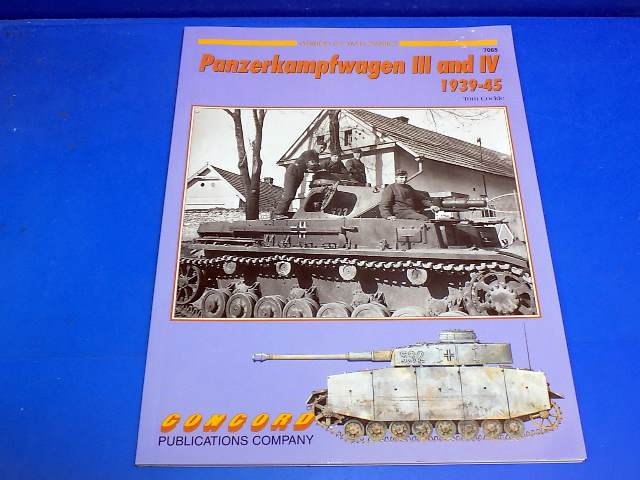 Concord Publications - 7065 Armour at War - Panzerkampfwagen III and IV Date: 00's