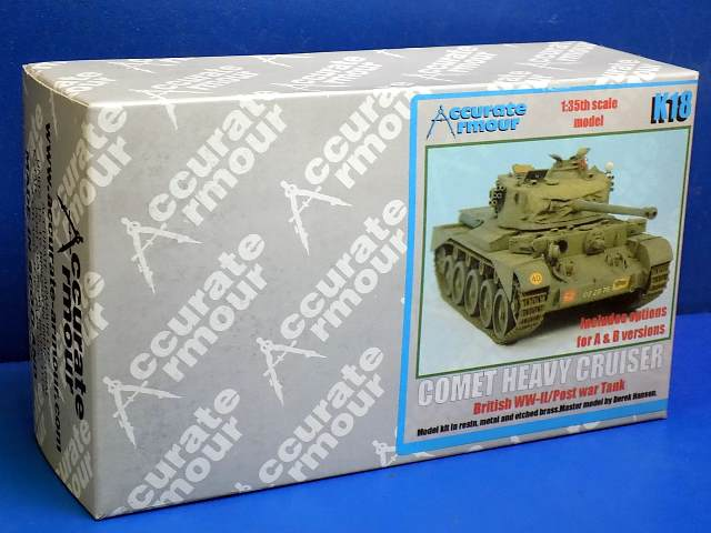 Accurate Armour 1/35 K18 Comet Heavy Cruiser Tank Date: 00's