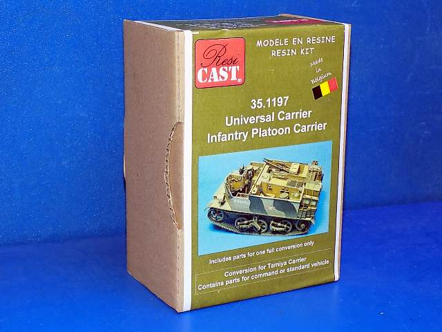 Resicast 1/35 351197 Universal Carrier Infantry Platoon Carrier (Tamiya) Date: 00's