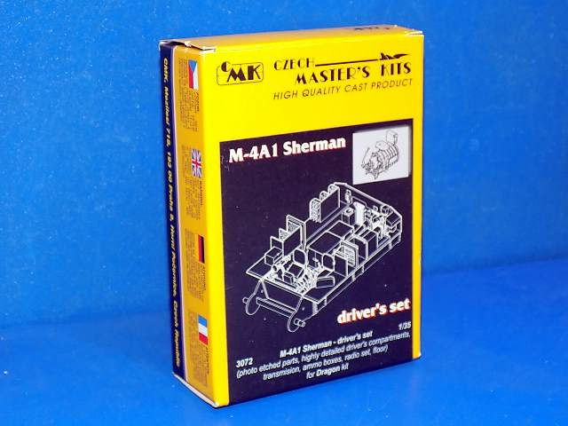 CMK 1/35 3072 M-4A1 Sherman Drivers Set Date: 00's