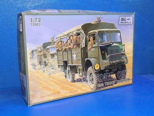 IBG 1/72 72003 Bedford QLT Troop Carrier Date: 00's