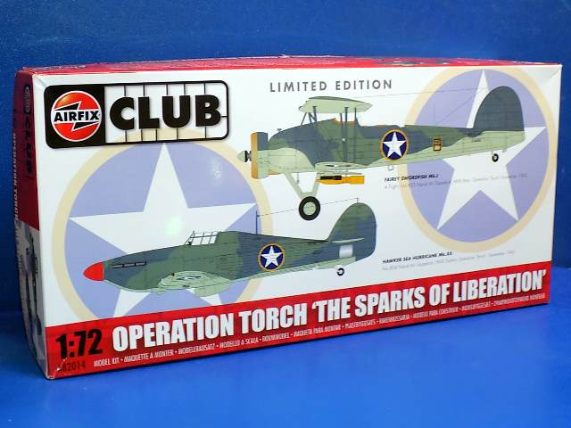 Airfix 1/72 82014 Club Edition - Operation Torch - Swordfish and Hurricane Date: 00's