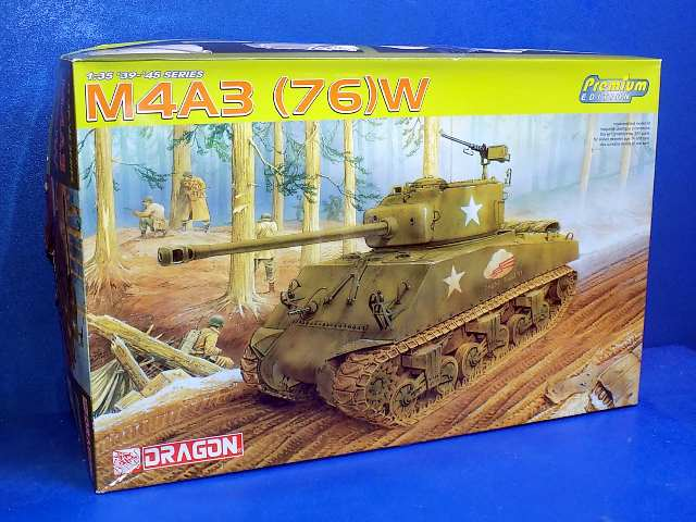 Dragon 1/35 6325 M4A3 (76)W Sherman Date: 00's