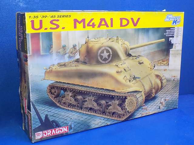 Dragon 1/35 6404 M4A1 DV Sherman Date: 00's