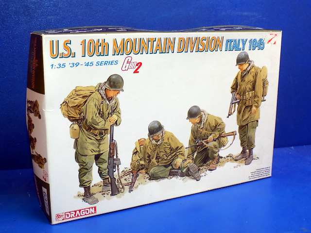 Dragon 1/35 6377 US 10th Mountain Division Italy 1945 Date: 00's