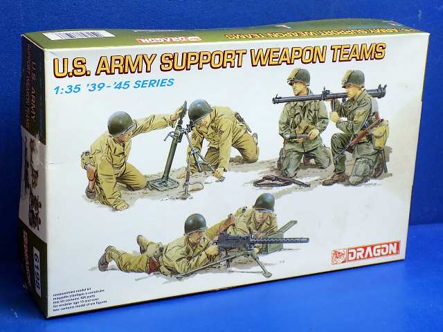 Dragon 1/35 6198 US Army Support Weapon Teams Date: 00's