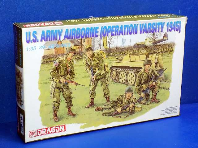 Dragon 1/35 6148 US Army Airborne (Operation Varsity 1945) Date: 00's