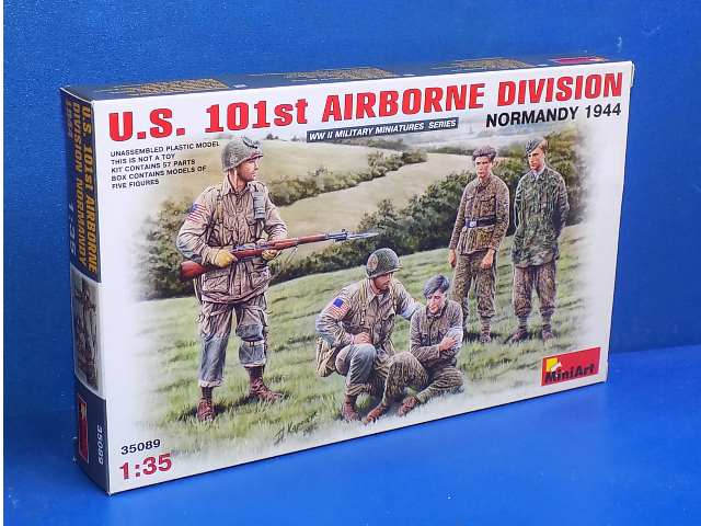 Miniart 1/35 35089 US 101st Airborne Division Normandy 1944 Date: 00's