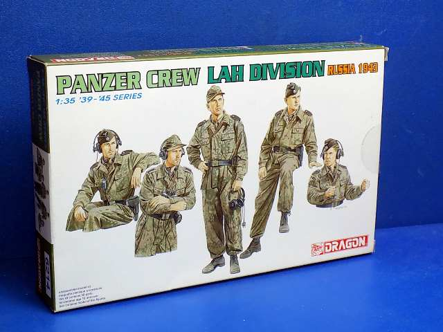 Dragon 1/35 6214 Panzer Crew LAH Division Russia 1943 Date: 00's