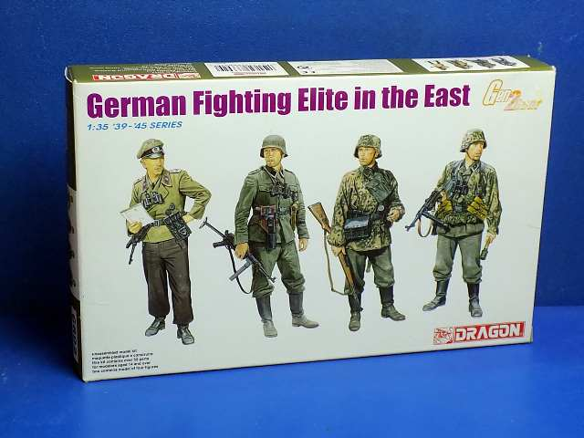 Dragon 1/35 6692 German Fighting Elite in the East Date: 00's