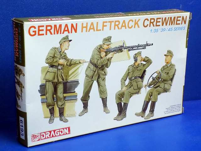 Dragon 1/35 6193 German Halftrack Crewman Date: 00's