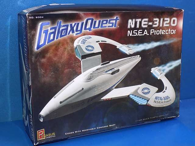 Pegasus 1/400 9004 NSEA Protector from Galaxy Quest Date: 00's