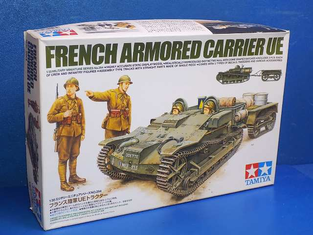 Tamiya 1/35 35284 French Armoured Carrier UE Date: 00's