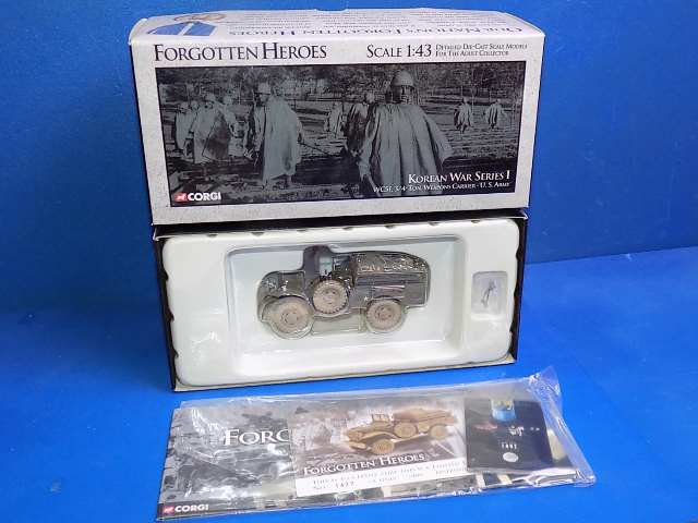 Corgi 1/43 US51703 Forgotten Hereos - WC51 3/4 Ton Weapons Carrier Date: 00's