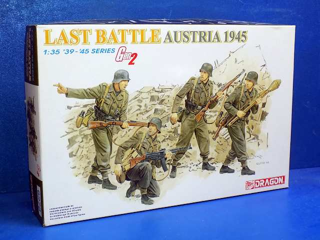 Dragon 1/35 6278 Last Battle Austria 1945 Date: 00's