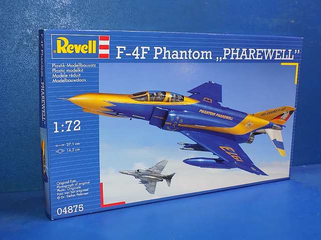 Revell 1/72 04875 F-4F Phantom Pharewell Date: 00's