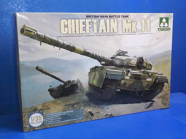 Takom 1/35 2026 Chieftain Mk.II (NO DECALS) Date: 00's