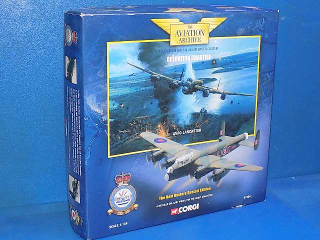 Corgi 1/144 47304 Aviation Archive - Dambusters Lancaster Date: 00's