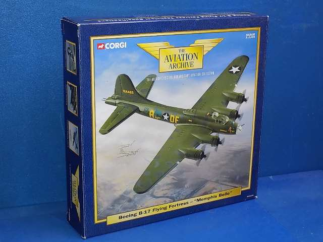 Corgi 1/144 AA31104 Aviation Archive - B-17 Flying Fortress - Memphis Belle Date: 00's