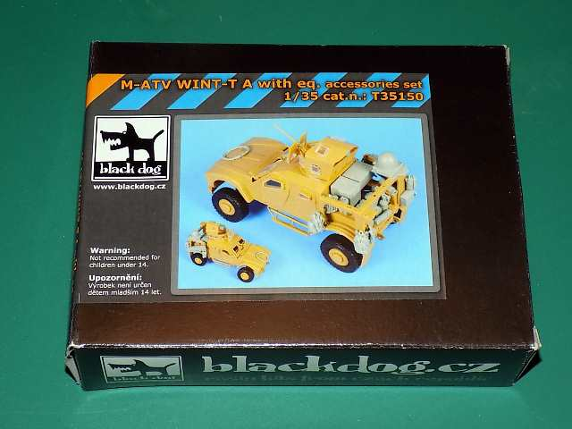 Black Dog 1/35 35150 M-ATV WINT-T Resin Accessories Set Date: 00's