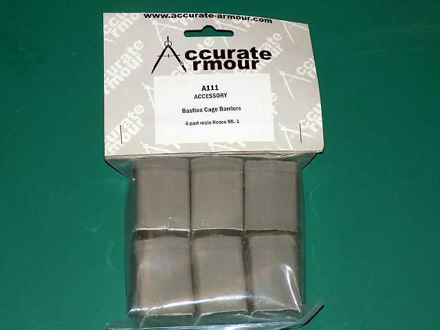 Accurate Armour 1/35 A111 Bastion Cage Resin Barriers 6 Date: 00's