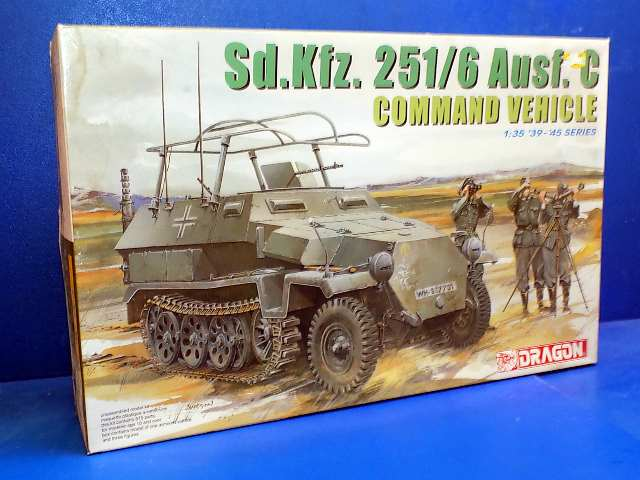 Dragon 1/35 6206 Sd.Kfz.251/6 Ausf.C Command Vehicle Date: 00's