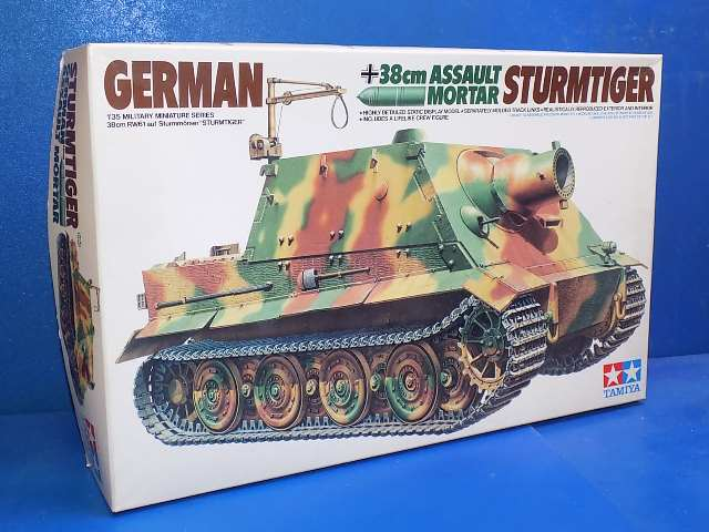 Tamiya 1/35 35177 Sturmtiger (Cracked Decals) Date: 00's