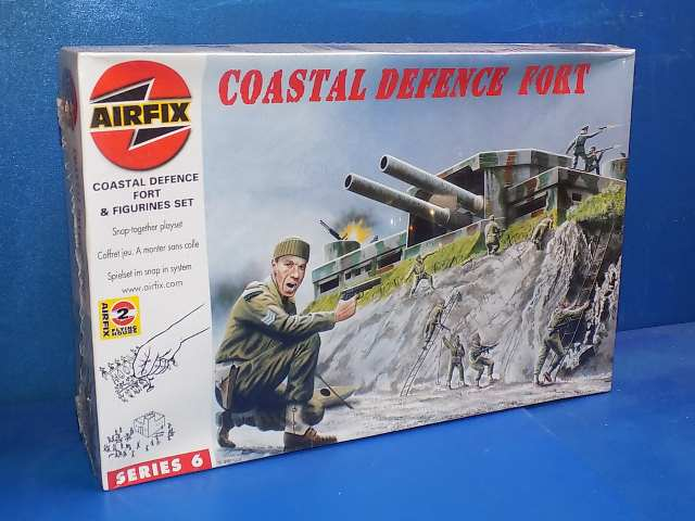 Airfix 1/76 06706 Coastal Defence Fort w/ Figures Date: 00's