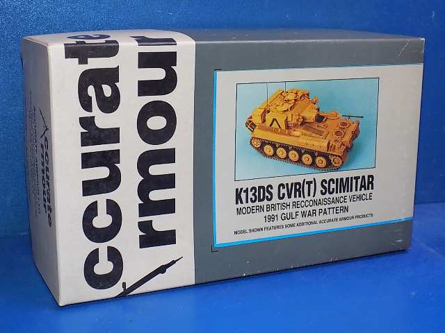 Accurate Armour 1/35 K13DS CVR(T) Scimitar Date: 90's