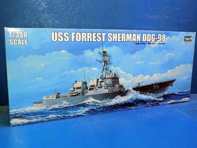 Trumpeter 1/350 04528 USS Forest Sherman DDG-98 Date: 00's