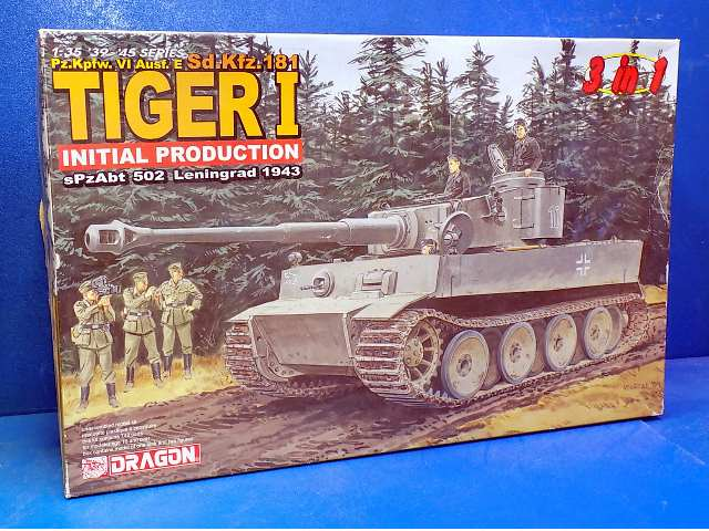 Dragon 1/35 6252 Tiger I - Initial Production Date: 00's