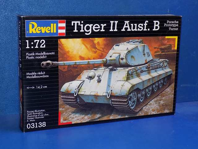 Revell 1/72 03138 Tiger II Ausf.B Date: 00's