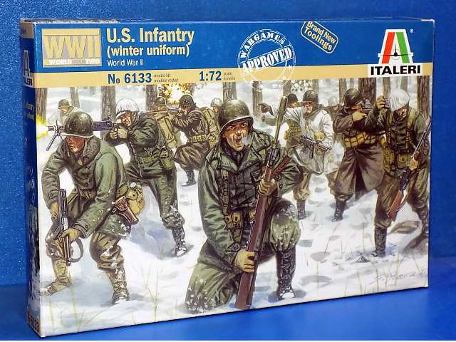 Italeri 1/72 6133 American Infantry (Winter Uniform) Date: 00's