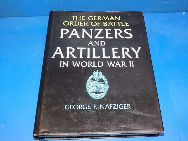 Books - - Panzers and Artillery in WW2 - Nafziger Date: 00's